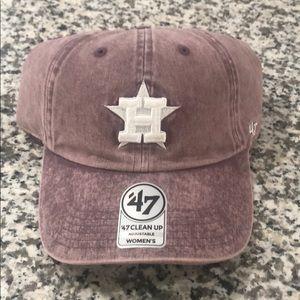 Houston Astros ladies fashion hat